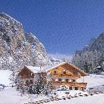 La casa d'inverno, Hausansicht Winter, our house in winter