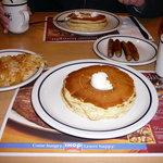 Pancakes, Hashbrowns & Sausage at IHOP