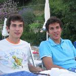 und hier noch die beiden hübschen Söhne von Roberto und Emanuela