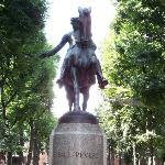 Statue of Paul Revere Photo