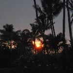 Sunset from our private lanai at Napili Village.