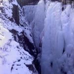 Ouray Box Canyon Ice Climbing Park
