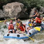 Raft trip on Rio Grande