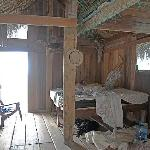 The interior of the Turtleman's house...