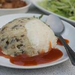 Hakka Dish - our absolute favorite made of mashed yam