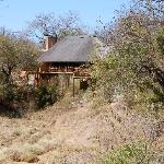 The Lodge, from our tented accommodation