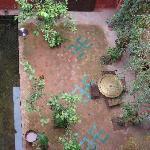 Riad Honey, courtyard