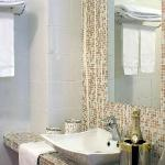 One of the beautiful bathrooms/Uno dei bagno