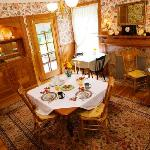 Beautiful dining room for a perfect breakfast