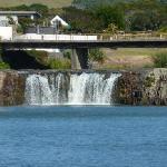 The Haruru Falls