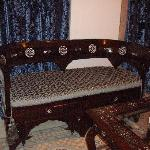 old style chairs, typical Damascus taste