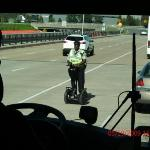 Arriving in Dulles. The traffic cops rode the segways everywhere.