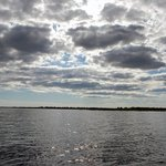 Lake Okeechobee, I really think we were still on Kissimee River
