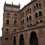 The Plaza de Toros.  The main bullfighting ring in Madrid.  No bullfights in December though.  N