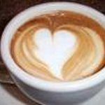 coffee with a heart....