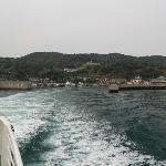 能古島を後にする