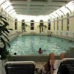 76degrees mineral pool (indoors)