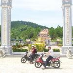 Bikes and Temples.