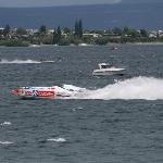 Power boat racing Lake Taupo