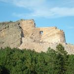 Crazy Horse Mt. in the works