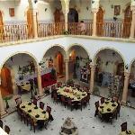 Zumit courtyard