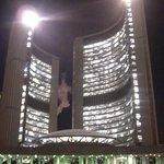 The new city hall.