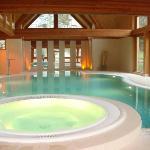 The swimming-pool