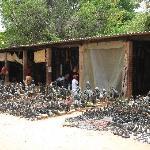 Markets in Victoria Falls town