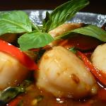 Spicy fresh Scottish Scallops!