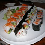 Combination Plate of Sushi