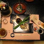 Le repas : Kaiseki