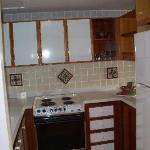 Kitchen of loft suite #8