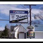 """There's No Food Finer, Than At The Route 2 Diner!"""