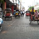Jalan Malioboro マリオボロ通り(ジョグジャカルタ)