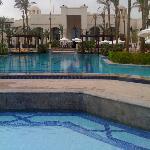L'enorme piscina..