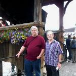 Joe and Don next to Lucerne bridge