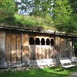 Sod House - Folk Museum  - Oslo Norway