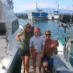 Captain Ryan, Noni and daughter