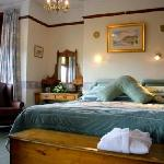 Full of period charm, the Fraser Room can be a romantic double, a twin room or we can add a thir