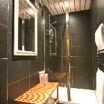 ONE OF THE SHARED SHOWER ROOMS