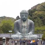 The famous Daibutsu in Kamakura.  A place visited in 2006.