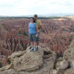 this was at Bryce Canyon in southern Utah last year.  i found the pic on steph's laptop and stil