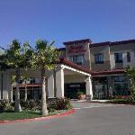 Hampton Inn and Suites main entrance