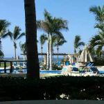 View from my bedroom door Las Mananitas - San Jose del Cabo