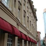 Our swank hotel: El Gran Hotel Ancira.