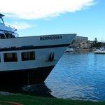 The ferry at the Royal Dockyard, Bermuda