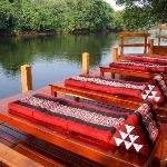 Sheer luxury on the banks of the River Kwai