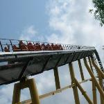 On the way up the hill on the Diamondback...that was fun!