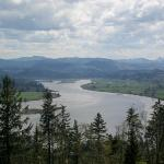 The river and landscape of Oregon