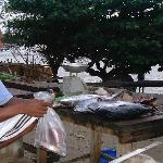 fresh fish with the best cook of island: Gerrit